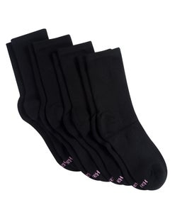 Hanes Women's Sport Cool Comfort® Crew Socks, 4-Pack