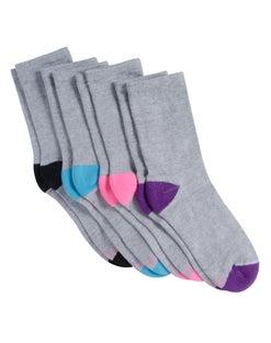 Hanes Women's Sport Cool Comfort® Crew Socks, 4-Pack