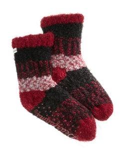 Dearfoams Women's Eyelash Knit Flurry Sock Slipper