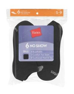Hanes Women's Cool Comfort® No Show Socks 6-Pack
