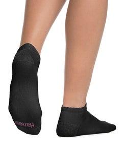 Hanes Cushioned Women's Low-Cut Athletic Socks 10-Pack