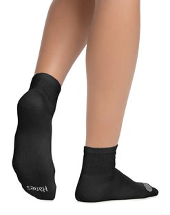 Hanes Women's Cool Comfort® Ankle Socks Extended Sizes 8-12, 6-Pack