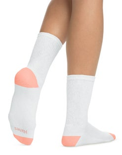 Hanes Women's Cool Comfort® Crew Socks 6-Pack