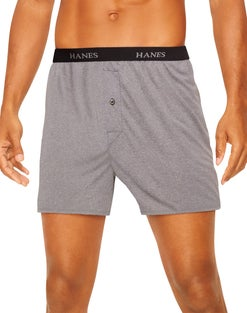 Hanes Ultimate™ Men's ComfortSoft®  Knit Boxers 5-Pack