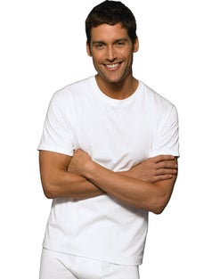 Hanes Ultimate™ Men's FreshIQ® ComfortSoft®  Crewneck Undershirt 3-Pack