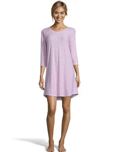 Jersey Sleepshirt--Pink