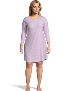 Jersey Plus Sleepshirt--Pink