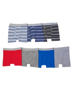Hanes Boys' ComfortSoft® Dyed Boxer Briefs with Comfort Flex® Waistband 7-Pack