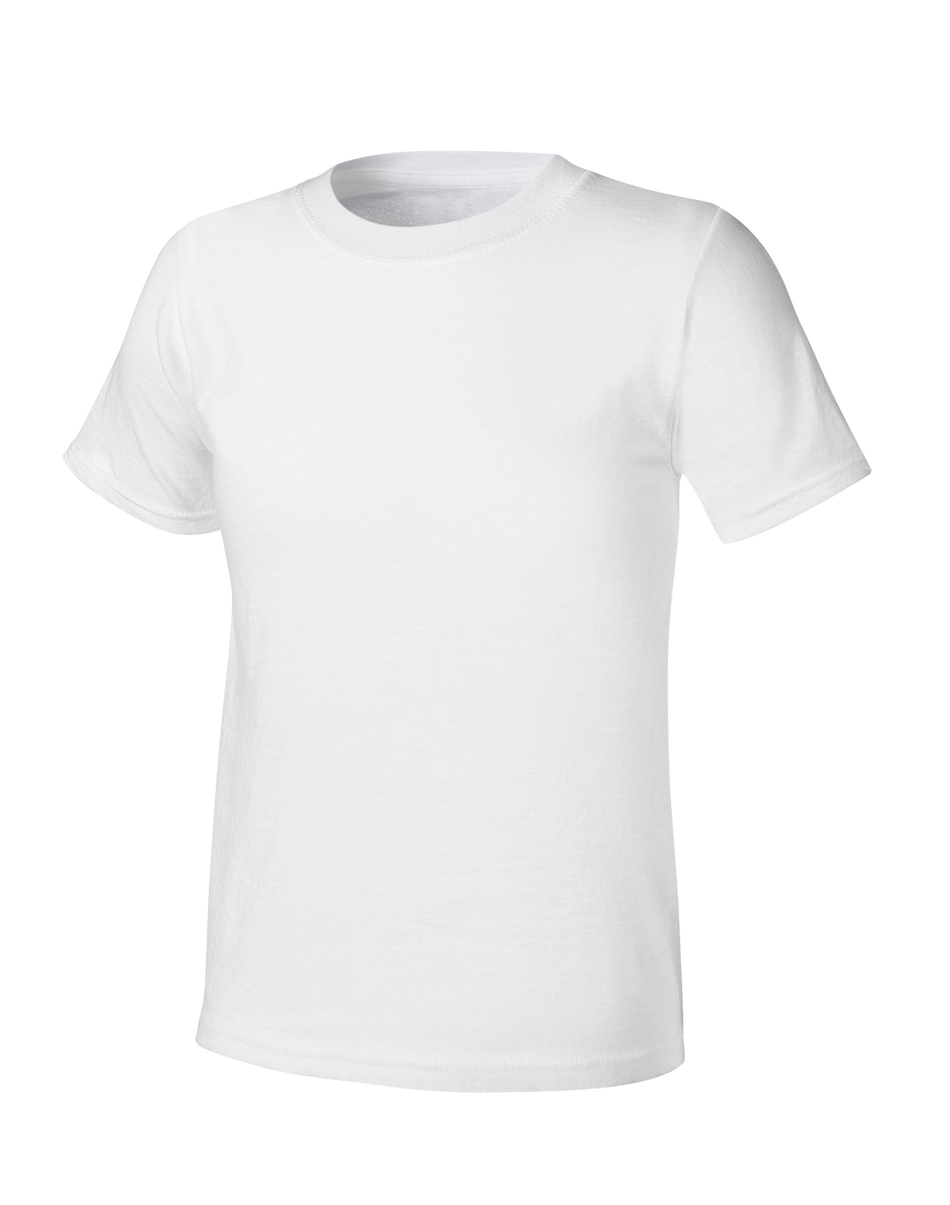 Hanes BoysUltimate X-Temp Tagless White Crew 4-Pack