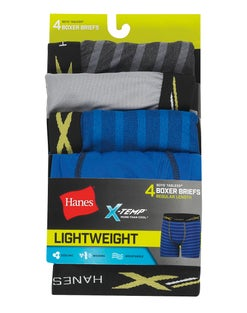 Boys' X-Temp® Lightweight Mesh Boxer Briefs 4-Pack