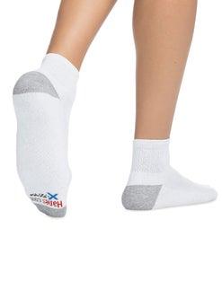 Hanes Men's FreshIQ™ X-Temp® Comfort Cool Ankle Socks 6-Pack