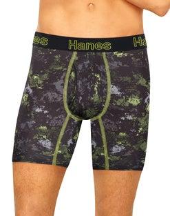 Hanes Men's Comfort Flex Fit® Ultra Lightweight Boxer Brief With Comfort Flex® Waistband 3-Pack