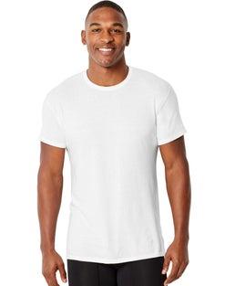 Hanes Men's Comfort Fit Crewneck Undershirt 4-Pack