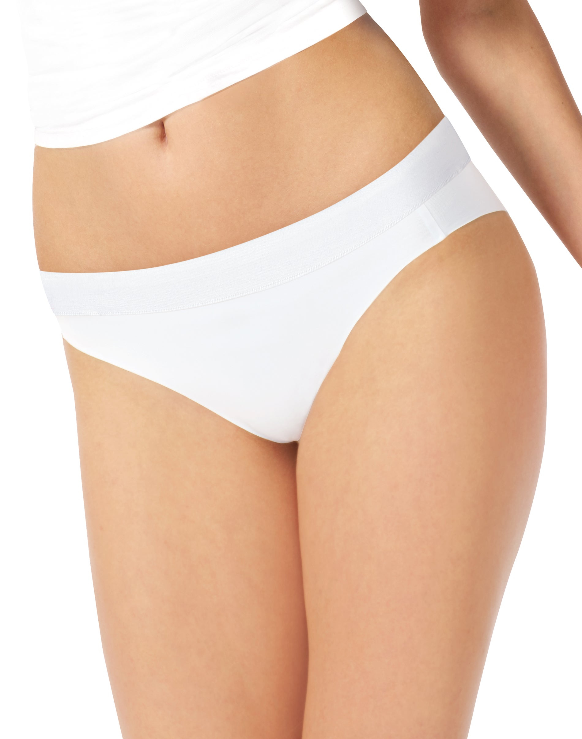 Hanes Womens Constant Comfort Comfortblend Bikini 4-Pack Panty