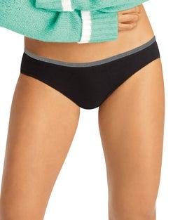 Hanes Women's Breathable Cotton Stretch Bikini 10-Pack
