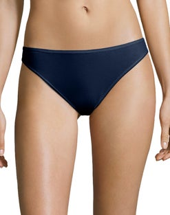 Hanes Cotton Stretch Thong 6-Pack