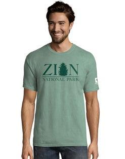 Hanes Men's  ComfortWash™ Zion National Park Short Sleeve Tee