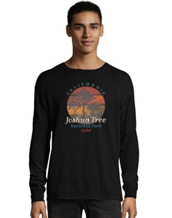 Hanes Men's ComfortWash™ Joshua Tree National Park Long Sleeve Tee