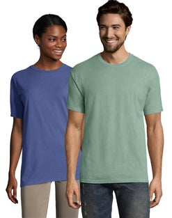 Hanes ComfortWash™ Garment Dyed Adult Short Sleeve Tee