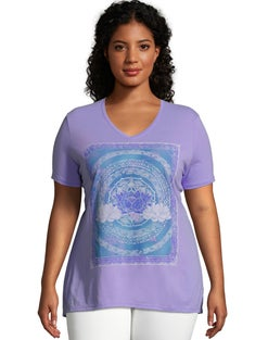 JMS Lotus Love Short Sleeve Graphic Tee