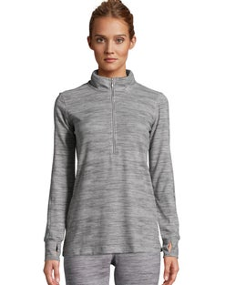 Hanes Women's Quarter Zip Top