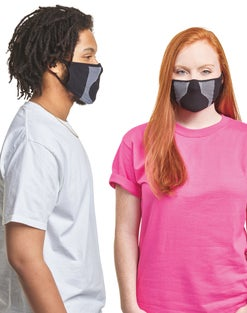 Hanes Signature Stretch-To-Fit Masks 60-Pack