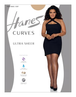 Hanes Curves Ultra Sheer Control Top Legwear