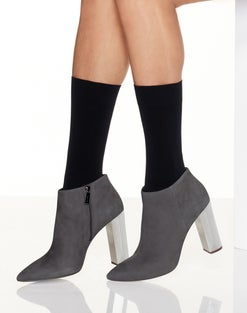 Hanes Perfect X-Temp® Opaque Mid Calf Socks 2-Pack