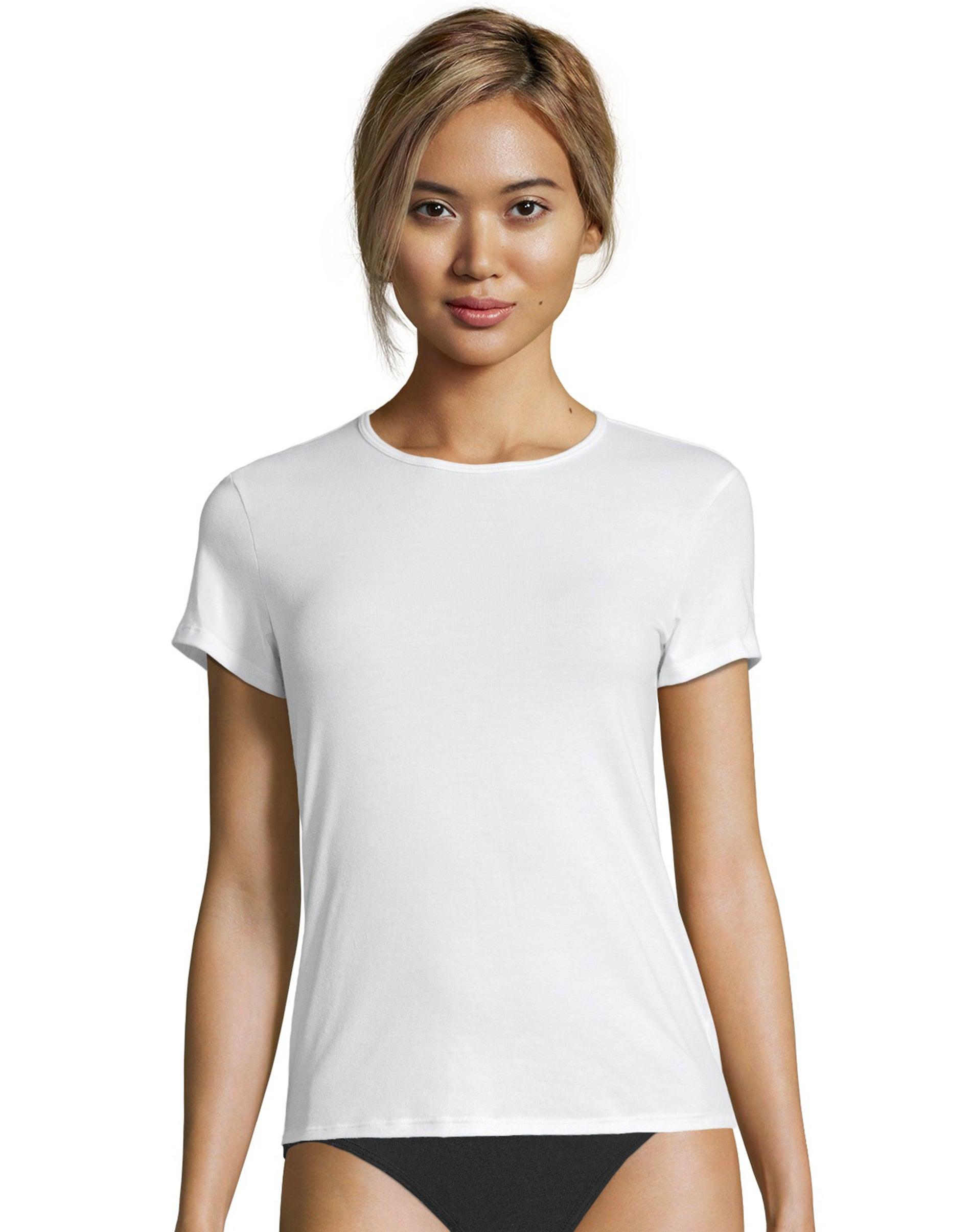 Pack of 2 Hanes Girls Jersey Cotton Tee Shirt