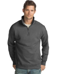 Hanes Men's Nano Premium Lightweight Quarter Zip Jacket
