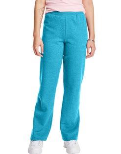 Hanes ComfortSoft™ EcoSmart® Women's Open Bottom Leg Fleece Sweatpants