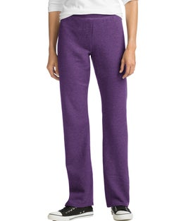 Hanes ComfortSoft™ EcoSmart® Women's Petite Open Bottom Leg Sweatpants