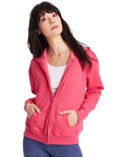 Hanes ComfortSoft™ EcoSmart® Women's Full-Zip Hoodie Sweatshirt