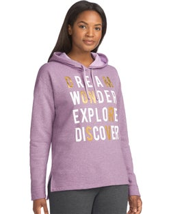 Hanes Women's Graphic Pullover Hoodie
