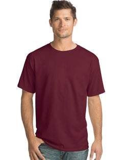 Hanes Men's Everyday Short Sleeve Crewneck T-Shirt 4-Pack