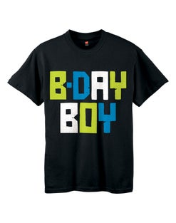 Boys' ComfortSoft® Birthday Boy Graphic Crewneck Tee