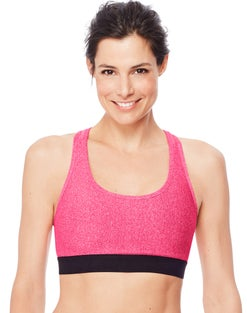Hanes Sport™ Women's Racerback Compression Sports Bra