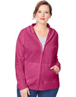 JMS ComfortSoft® EcoSmart® Fleece Full-Zip Women's Hoodie