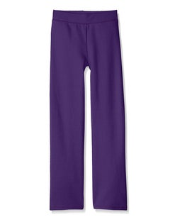 Hanes Girls' EcoSmart® Crew Sweatpant 2-Pack
