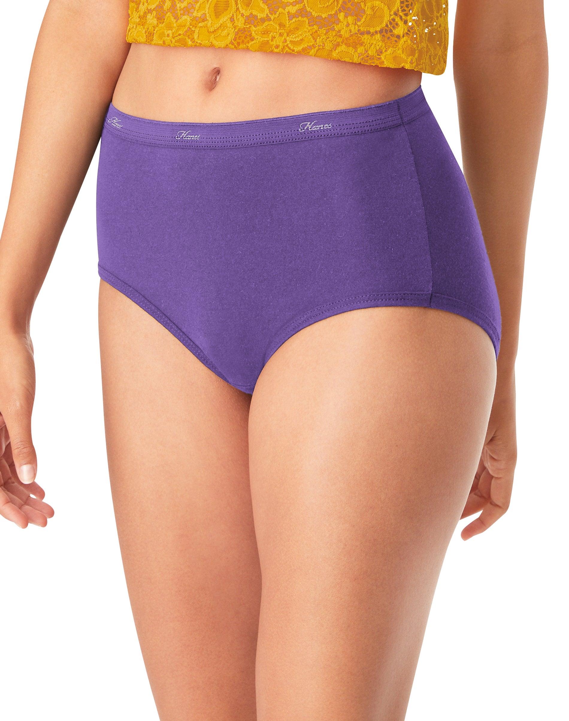 6pcs Womens Comfort Elastic Hipster Panty Underwear Brief NK1