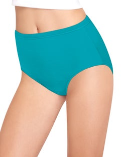 Hanes Women's Cool Comfort™ Pure Bliss® Cotton Brief Panties 8-Pack