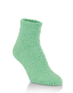 World's Softest® Cozy Quarter Crew Grip Socks