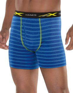 Hanes X-Temp® Mesh Performance Boxer Briefs 4-Pack